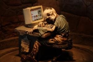 Internetsucht / Bildquelle Harry Hautumm / pixelio.de
